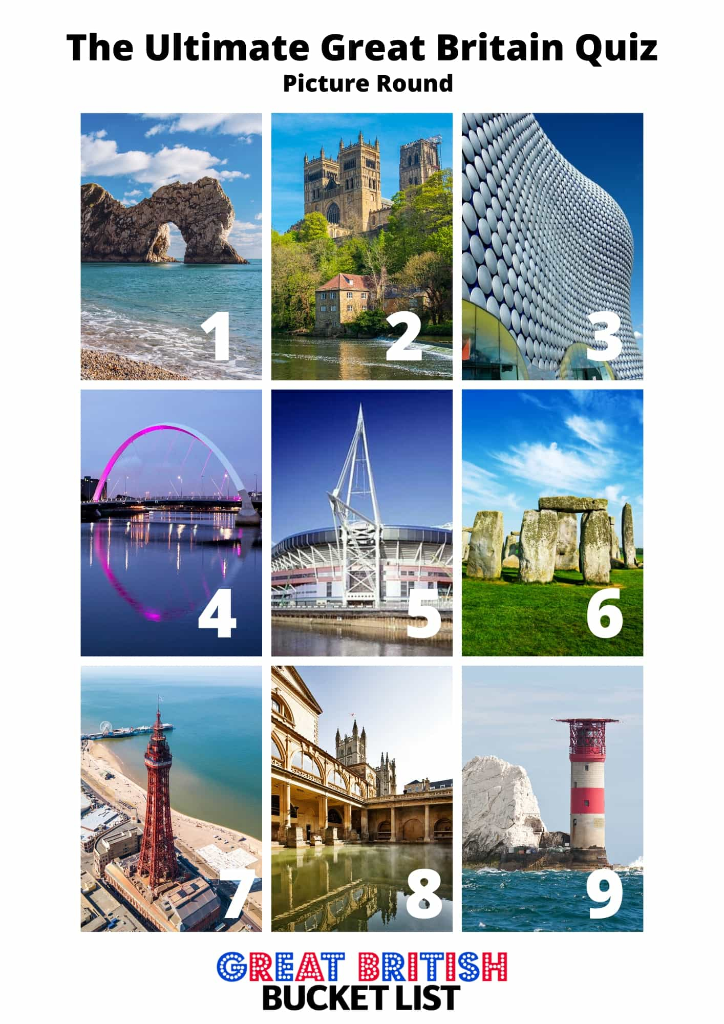 Great British Quiz - Questions And Answers For Your Next