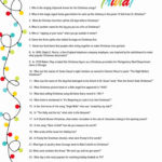 Christmas Trivia Questions And Answers Printable Of