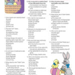 Easter Trivia Game 3 95 In 2019 Easter Party Games