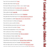 Free Printable Bible Trivia Questions And Answers Free